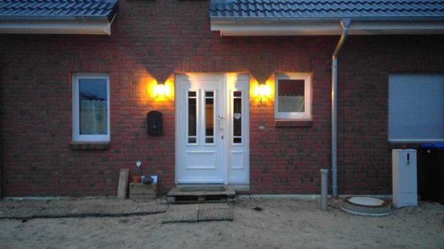 Eingangsbereich für Vordachmontage